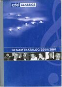 Catalogue - Edel Classics 2000/2001 -  /  Книга 1