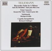 Telemann-Viola Concerto/Recorder Suite In A Minor/Tafelmusik -  /  Cd 1