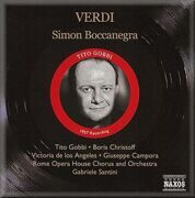 Verdi - Simon Boccanegra Gobbi, Christoff -  /  Cd 2