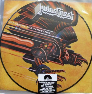 Judas Priest - Screaming For Vengeance (Picturedisc Usa) /  Lp 1