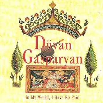 Djivan Gasparyan - In My World, I Have No Pain  /  Cd 2 2002 World Records Moscow Russia