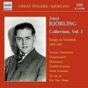 Jussi Bjorling - Songs In Swedish (1929-1937) /  Cd 1