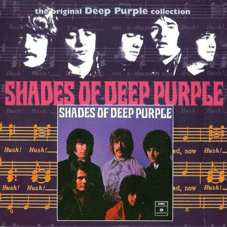 Deep Purple - Shades Of Deep Purple(Лицензия) /  Cd 1