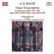 Bach - Organ Transcription - Wolfgang Rubsam, Organ /  Cd 1