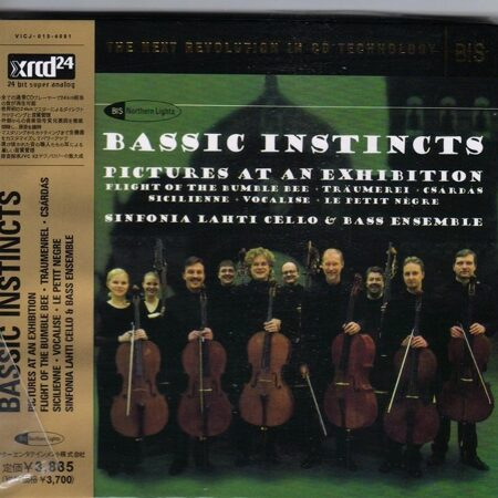 Bassic Instincts - Pictures At An Exhibition  /  Xrcd 1 2004 Bis Jvc Japan/Hong Kong