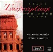 Transcriptions For Piano 4 Hands  - - /  Cd 1
