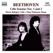 Beethoven - Cello Sonatas 1 & 2 - Maria Kliegel, Cello / Nina Tichman, Piano /  Cd 1