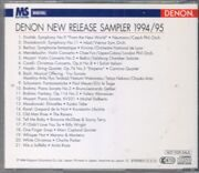 Various Composers&Artists-Denon New Release Sampler 1994/95 -  {Distributor'S Copy} /  Cd 1
