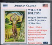 Bolcom - Songs Of Innocence And Of Experience  -  /  Cd 3