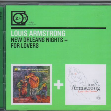 Louis Armstrong  - New Orleans Nights + For Lovers 2:1 /  Cd 2