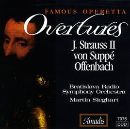 Offenbach / Strauss Ii / Suppe - Famous Operetta Overtures  -   /  Cd 1  Amadis Import