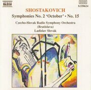 Shostakovich - Symphonies Nno. 2 And 15 - Ladislav Slovak / Czecho-Slovak Rso /  Cd 1