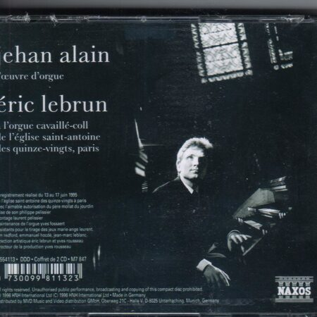 Alain - Organ Works -  /  Cd 2