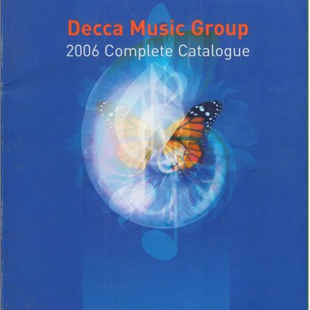 Catalogue - Decca Complete 2006 -   /  T 1   England