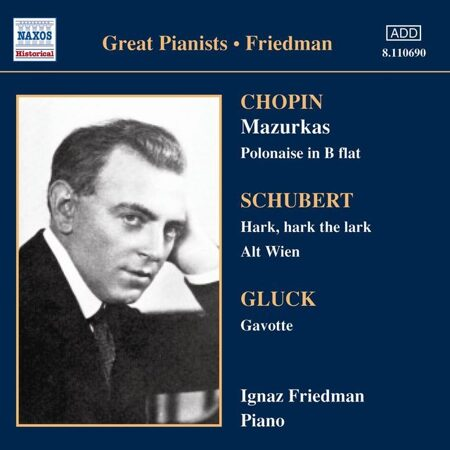 Chopin - Mazurkas - Friedman 1928-1930 /  Cd 1