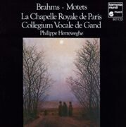 Brahms - Motets - Phillipe Herreweghe / La Chapelle Royale /  Cd 1
