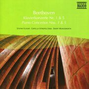 Beethoven - Piano Concertos Nos. 1 And 5 - Stefen Vladar /  Cd 1