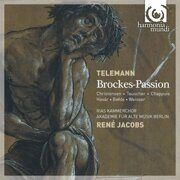 Telemann - Brockes-Passion (Highlights) Sampler 23: - Rene Jacobs Total Time 23'28 /  Cd 1