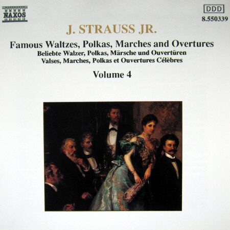 Strauss Ii, J. - Waltzes, Polkas, Marches And Overtures Vol. 4  -   /  Cd 1  Naxos Germany