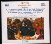 Haydn - Symphonies 26/35/49/6/7/8/ 24/23/61/22/29/60/30/55/63 -   /  Cd 5  Naxos Germany
