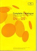 Catalogue - Deutsche Grammophon 2004-2005 -  /  Книга 1