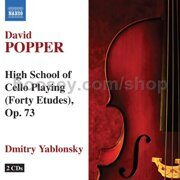 David Popper - High School Of Cello  - - /  Cd 2