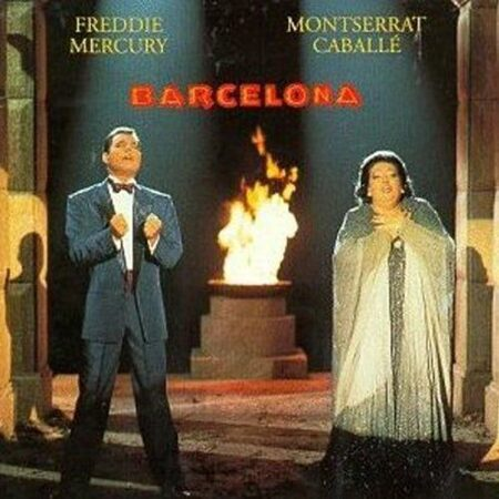 Freddie Mercury (Ex-Queen) & Monserrat Caballe - Barcelona (1992 Uk Edition) /  Cd 1