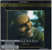 Andrea Bocelli - Vivere The Best Of  /  K2Hd Cd 1 2011 Sugar/Universal Japan/Hong Kong