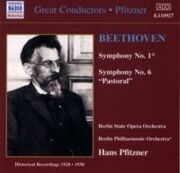Beethoven - Symphonies Nos. 1 And 6  - (Pfitzner) (1928-1930)  /  Cd 1