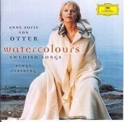 Anne Sofie Von Otter  Soprano  Watercolours Swedish Songs - Lars-Riclarsson Hugo Alfven /  Cd 1