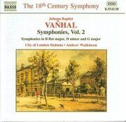 Vanhal - Symphonies, Vol. 2 (18Th Century)   -  /  Cd 1