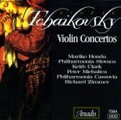 Tchaikovsky (Чайковский) / Dvorak - Violin Concertos -   /  Cd 1  Amadis Germany