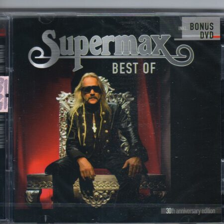 Supermax - Best Of /  Cd/Dvd 3