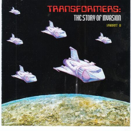 Transformers' Dance -  The Story Of Invasions (Variant B) /  Cd 1