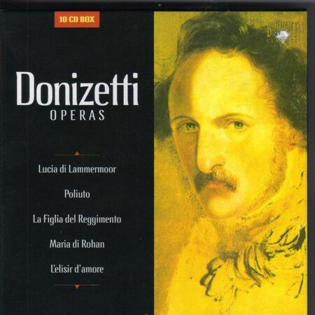 Donizetti - Operas - Various Artists /  Cd 10