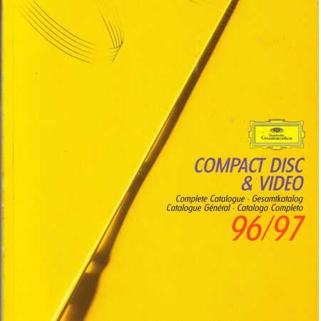 Catalogue - Deutsche Grammophon 1996 - 1997 -  /  Книга 1