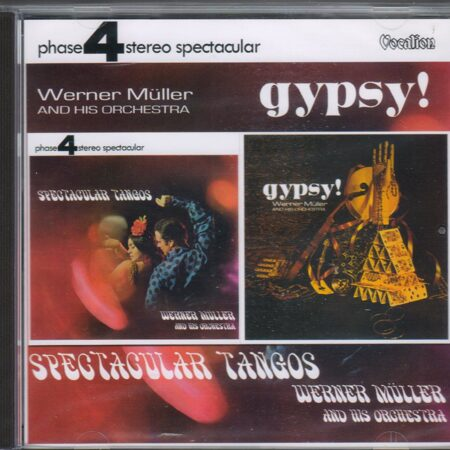 Werner Muller And His Orchestra - Spectacular Tangos & Gypsy /  Cd 1