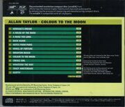 Allan Taylor - Colour  To The Moon /  Xrcd 1