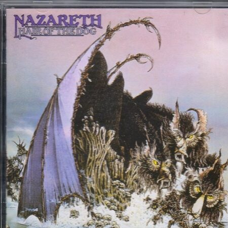 Nazareth - Hair Of The Dog  /  Cd 1 1997 Castle England