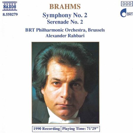 Brahms - Symphony No. 2 / Serenade No. 2  -   /  Cd 1  Naxos Germany