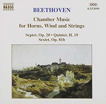 Beethoven-Chamber Music For Horns, Winds And Strings -  /  Cd 1