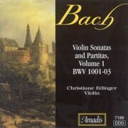 Bach - Sonatas & Partitas For Solo Violin - 1 - Christiane Edinger /  Cd 1