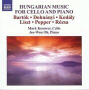 Bartok/Dohnanyi/Kodaly/Liszt-Music For Cello And Piano - Mark Kosower /  Cd 1