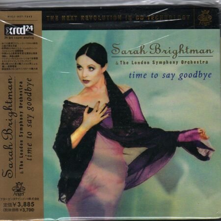 Sarah Brightman - Time To Say Goodbye(Super Analog K2/Jvc) /  Xrcd24 1