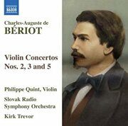 Beriot, C.-A. De - Violin Concertos Nos. 2, 3 And 5 (Quint)   -  /  Cd 1