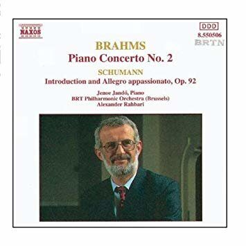 Brahms-Piano Concerto No. 2/Schumann- R-Introduction And Allegro Appassinato -   /  Cd 1