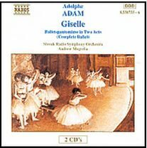Adam - Giselle (Complete Ballet)   -   /  Cd 2  Naxos Import