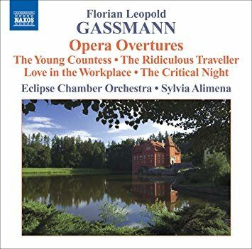 Gassmann, F.L. - Opera Overtures   - (Eclipse Chamber Orchestra, Alimena) /  Cd 1