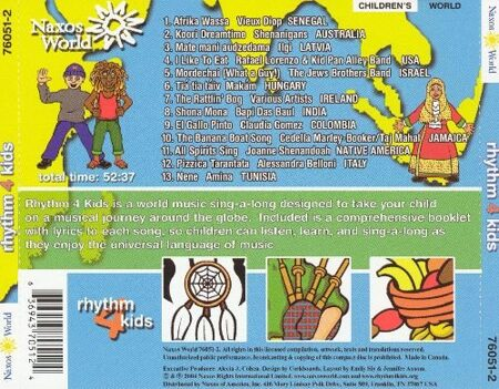 World Rhythm 4 Kids - Sing-A-Long - Сборник Этнических Релизов Лэйбла /  Cd 1