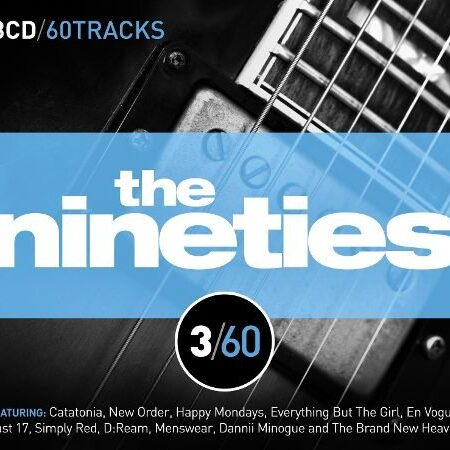 Various Artists - 3/60 - The Nineties - Aztec Camera / New Order / Faith No More /  Cd 3
